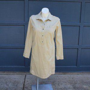 J. Jill Live in Chino 16 Tall Shirt Dress